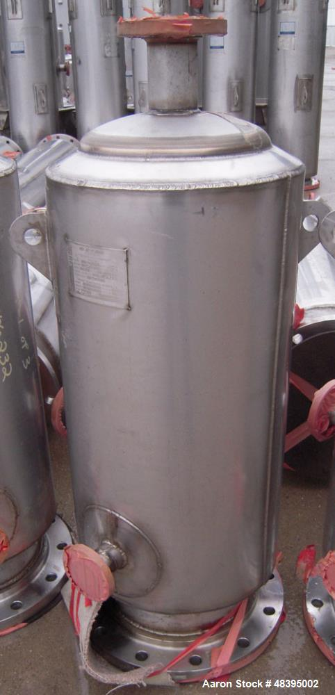 "Used- Mueller Distillation Column, 14"" PrimaryGlycerin Distallation Column C-601. 304L Stainless Steel, Vertical. 14'' diame..."