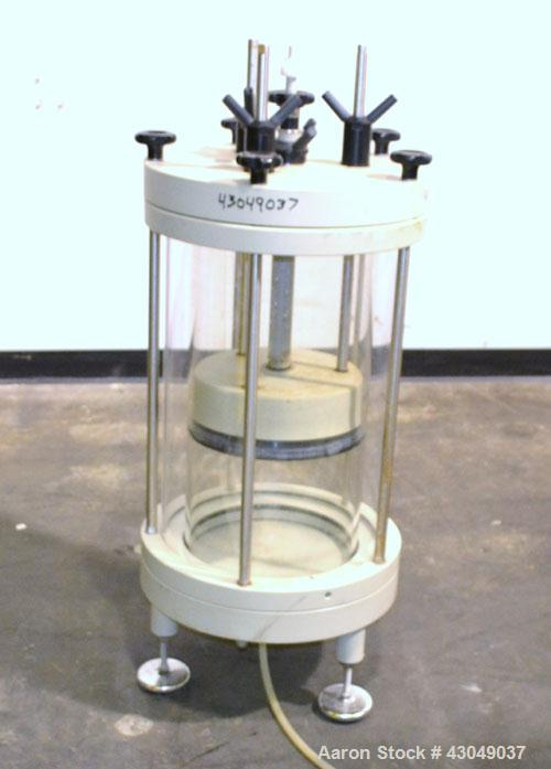 "Used- Biosepra Plexiglass Column, Model 300 x 600. Approximately 16"" diameter x 22"" long."