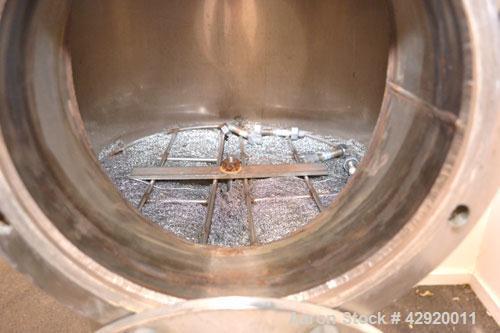 """Used- Stainless Steel 18"""" Diameter Demister Filter Housing, Model 4HD4886-1336"""