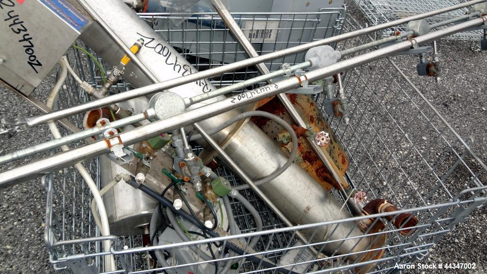 Used- Phoenix Distillation Column System consisting of: (2) Phoenix tray columns, 304 stainless steel, each approximately 36...