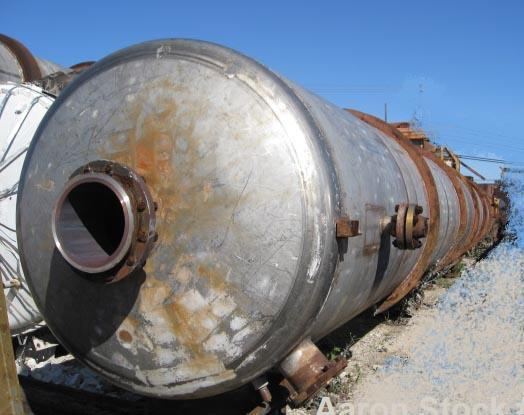 Used- Stainless Steel Wyatt Crude Acetone Column