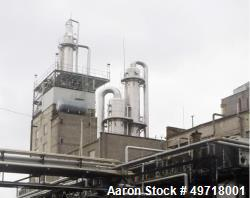Used- Ethanol distillery plant - Ethyl Alcohol-Food grade/Bioethanol (dehydrated ethal alcohol) with a capacity of 39700 gal...