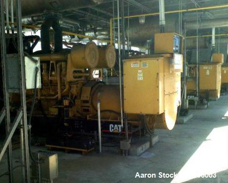 Used-Cat 3825 kW Power Plant