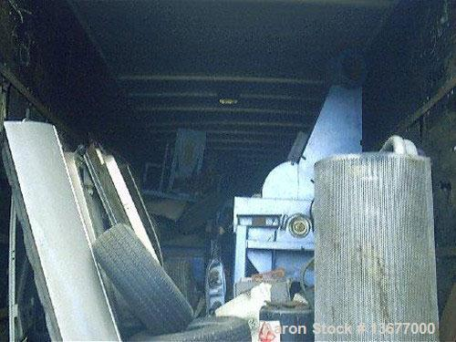 Used-USED: Emperor cellulose insulation processing system including  grinder/blender/bagger. System grinds old paper into ce...