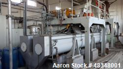 Used- Olive Oil Plant 2 Phase for 4400 lbs. (2000 kgs) or less consisting of: (1) Ghauvin S.a.r.l mixer, type B 94, working ...