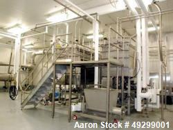 Used- Complete Flexline Frozen Meal Kitchen and Assembly Production Line.