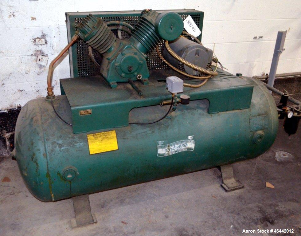 Used- Associate Engineering Rol-Air Compressor, Model H5312MSVSA. Driven by a 5hp, 3/60/208-230/460 volt, 1740 rpm motor. In...