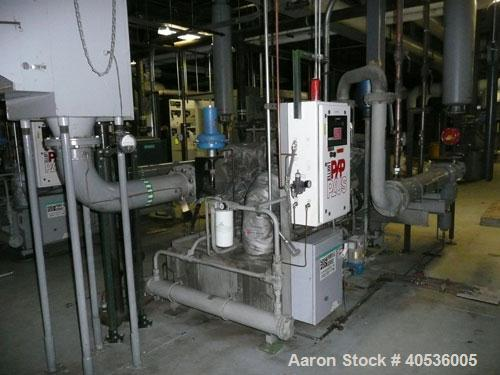 Used-Elliott model 220DA3, serial E011601-1. 500 hp, 3600 rpm, 2,439 cfm, 11.9 psi inlet, 125 psi discharge pressure, 80 F a...