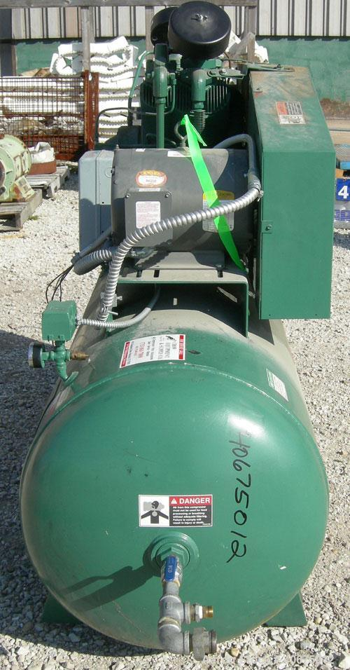 Used- Champion Advantage Series Reciprocating Air Compressor, 2 Stage, Model HR-10-12, air cooled. 34.8 cfm at 175 psig. Dri...