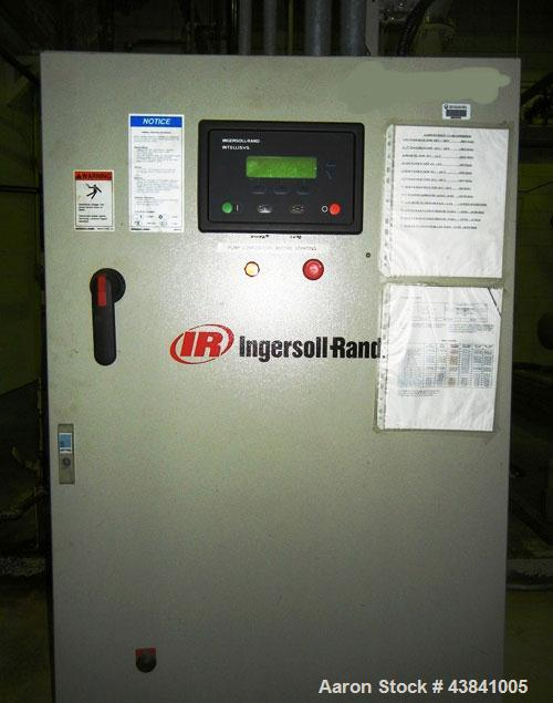 Used-Ingersoll Rand Air Compressor, 125 hp, model 12&5X7 PHE-Lube.Two stages, 2 cylinders, P1 = 14.5 psig, P2 = 500 psig, 64...