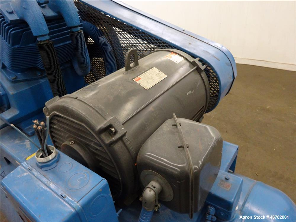 Used- Two Stage Reciprocating Air Compressor, Model 20-467/7WT-07