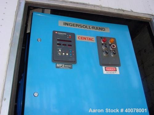 Unused-Used: Ingersoll Rand Centac Van Trailer-Mounted Air Compressor, Model 28CII50M3, 5176 cfm, 1000 HP motor, 3/60/4160V,...