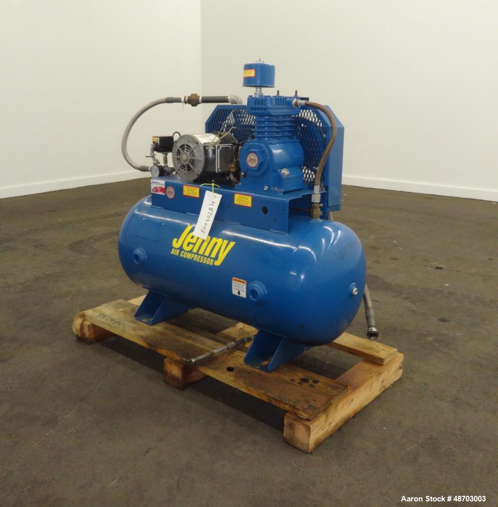 Used Jenny Air Compressor Model K1a 30 Approxi