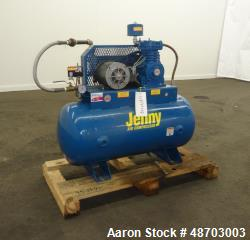 Used- Jenny Air Compressor, Model K1A-30.