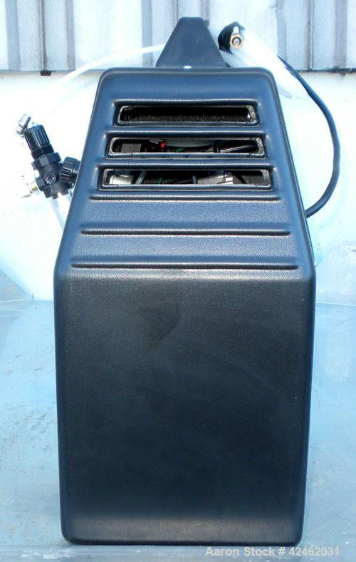 Used- Fiac Oil Less Air Compressor, Model Air Concept, Code# 1702851000. Rated 3.71 CFM at 116 psi. Approximate 1hp. Mounted...