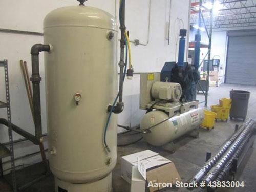 Used- Quincy Reciprocating Style Air Compressor, Model QT25