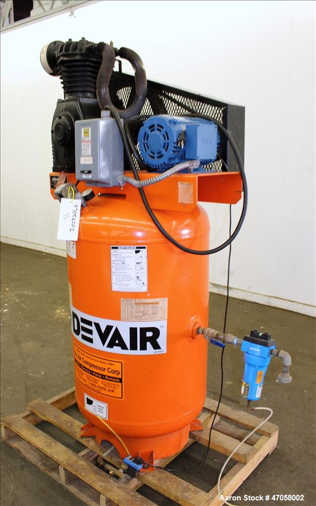 Used-DeVair, Model TAPV-5052, approximately 5 HP. Serial N. 4287701
