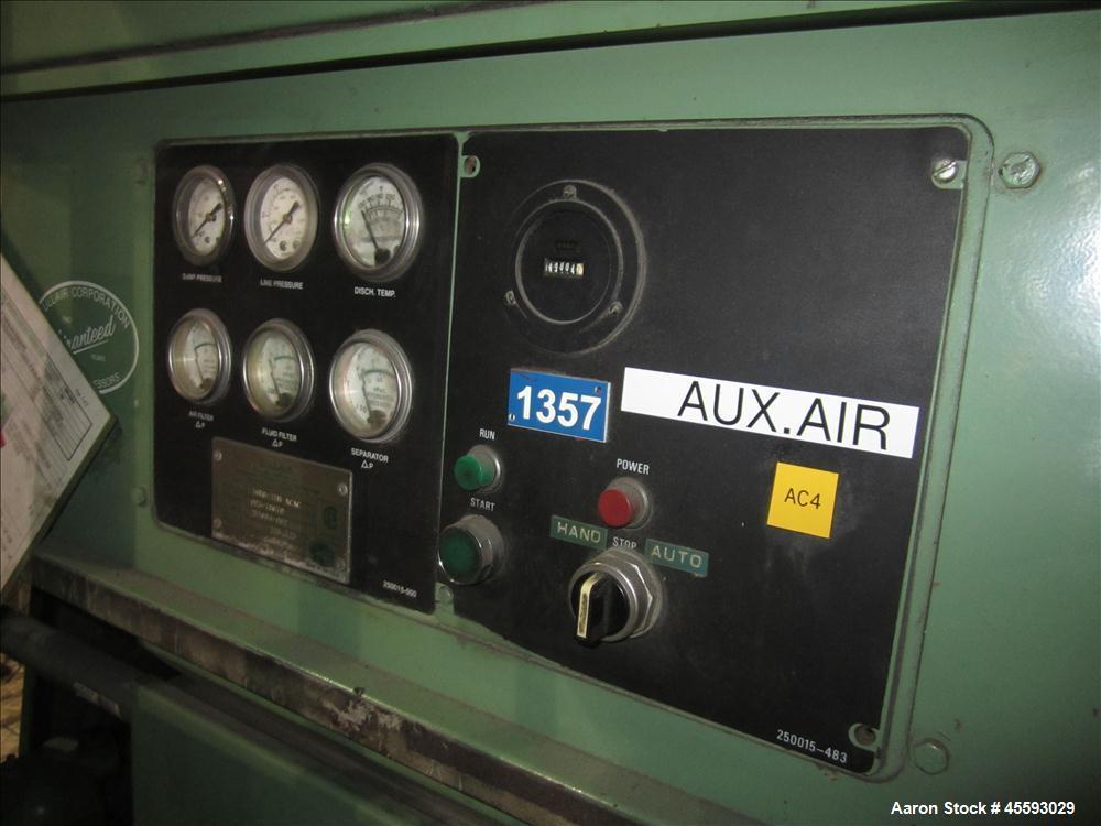 Used-Sullair model 16-75 rotary screw air compressor,              s/n n/a