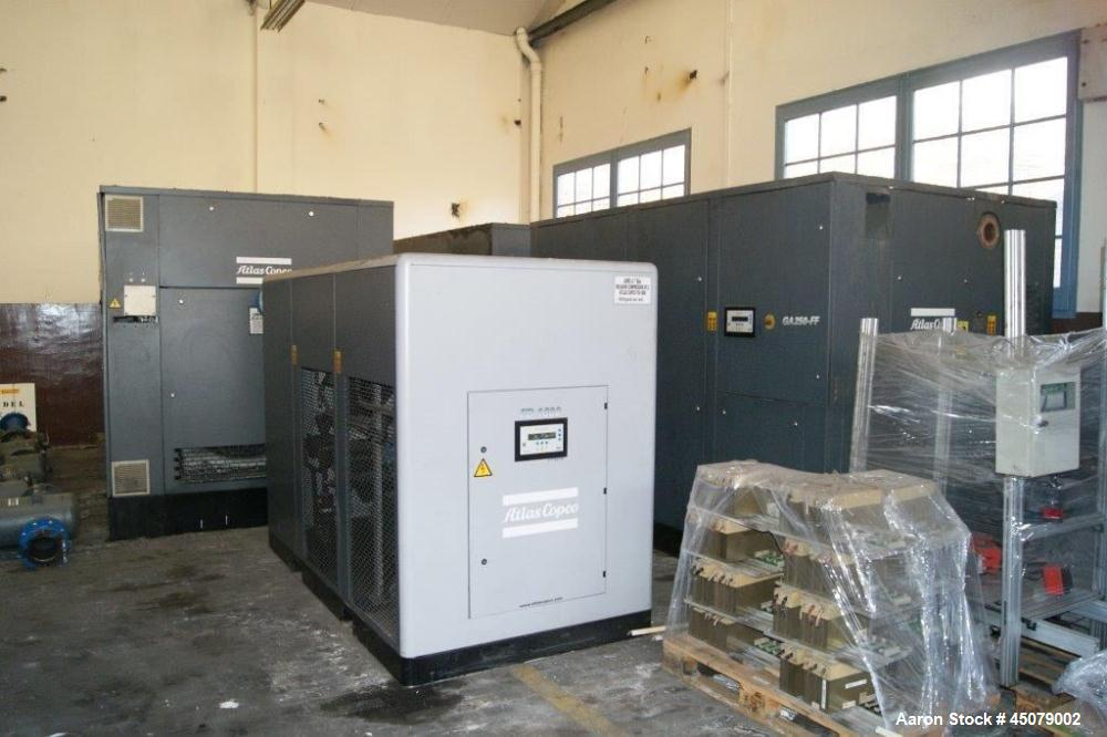 Used-Atlas Copco Rotary Screw Oil Injected Air Compressor