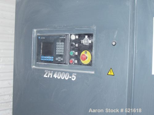 USED: Atlas Copco centrifugal compressor, model ZH 4000-5. 4200 cfm. Max pressure 112 psig. 392 hp @ 4160 volt. Input power ...