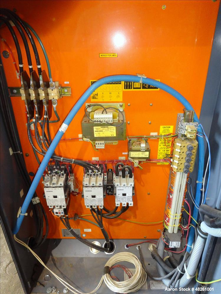 Used- Atlas Copco Oil Free Air Rotary Screw Air Compressor, Model ZR55