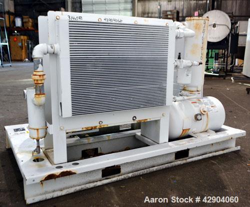 Used- Gardner Denver Electra-Saver II Oil Flooded Rotary Screw Air Compressor, Model EBM99K. Rated approximate 320 cfm at 12...