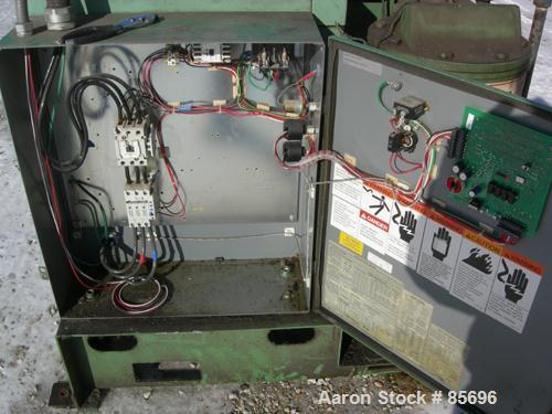 Used- Gardner Denver Rotary Screw Compressor, Model EDEQJB-AAGA99C, air cooled. Approximately 221 cfm at 100 psi at 4795 rpm...