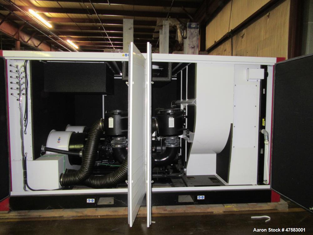 Unused- Gardner Denver Rotary Screw Compressor. 460/3/60 volt, 150 kW motor compressor, 100 psig at 1050 CFM. Airsmart contr...