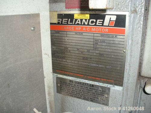 Used-Ingersoll Rand Centec Compressor, Type 3C70M4. 7,000 cfm @ 14.4 psi.  Discharge pressure 125 psig.  Intake temp 95 deg ...