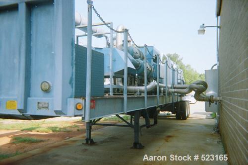 USED: 2000 Ingersoll Rand Centrac air compressor, model C95055M3.5500 scfm, 115 psig, 3575 rpm, 95 deg F. 1250 hp Siemens mo...
