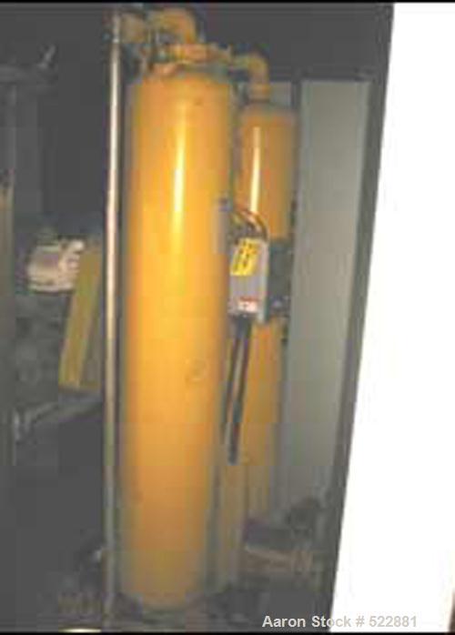 USED: 861 cfm Ingersoll-Rand rotary screw air compressor, model Sierra H-200. Oil free design, 200 hp, 3/60/460 volt, air co...