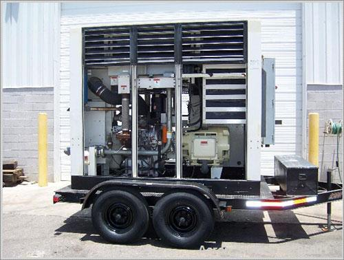 Used-Ingersoll Rand Sierra H200 100% oil free portable rotary air compressor, 200 hp, 861 cfm @ 125 psi, 3/60/460V.