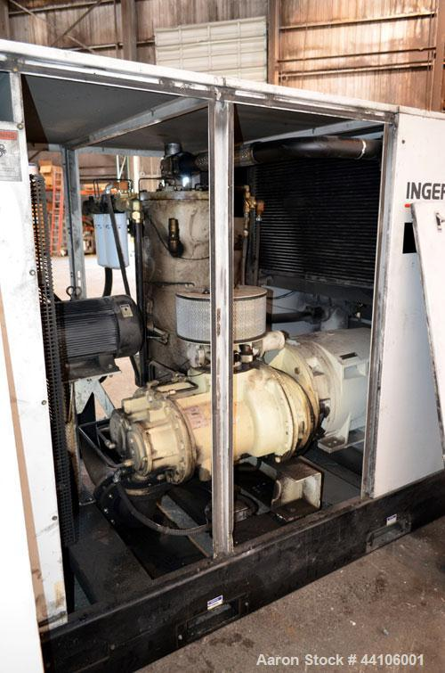 Used- Ingersoll-Rand Air Cooled Rotary Screw Air Compressor, Model SSR-EP125. Capacity 571 CFM, rated operating pressure 125...