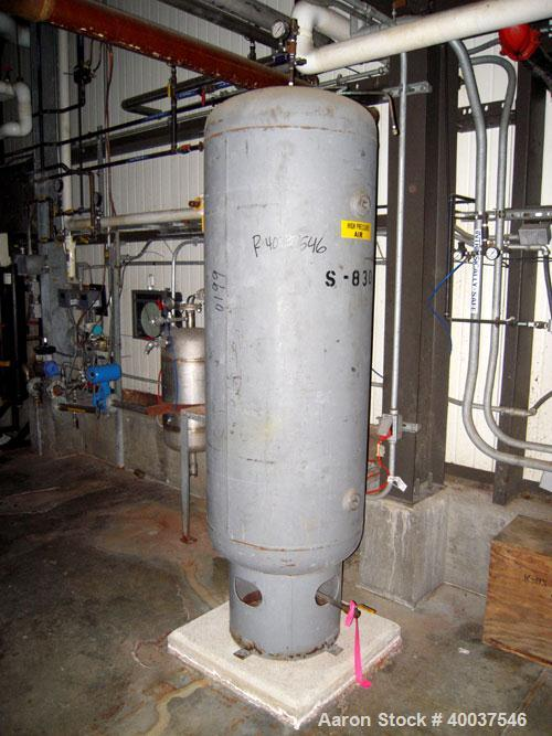 Used- Ingeroll Rand Rotary Screw Air Compressor, model SSR-EP30SE. 117 CFM at 125 psi. Driven by a 30 hp,3/60/230/460 volt m...
