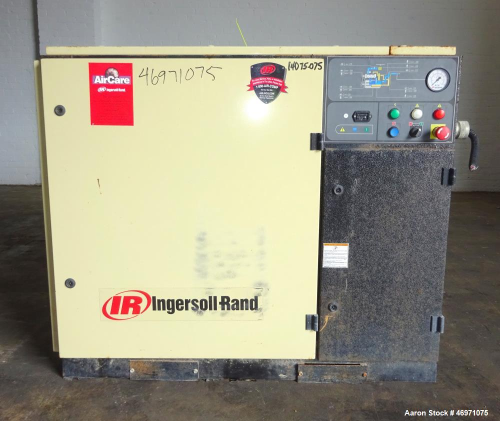 Used Ingersoll Rand Air Cooled Rotary Screw Air