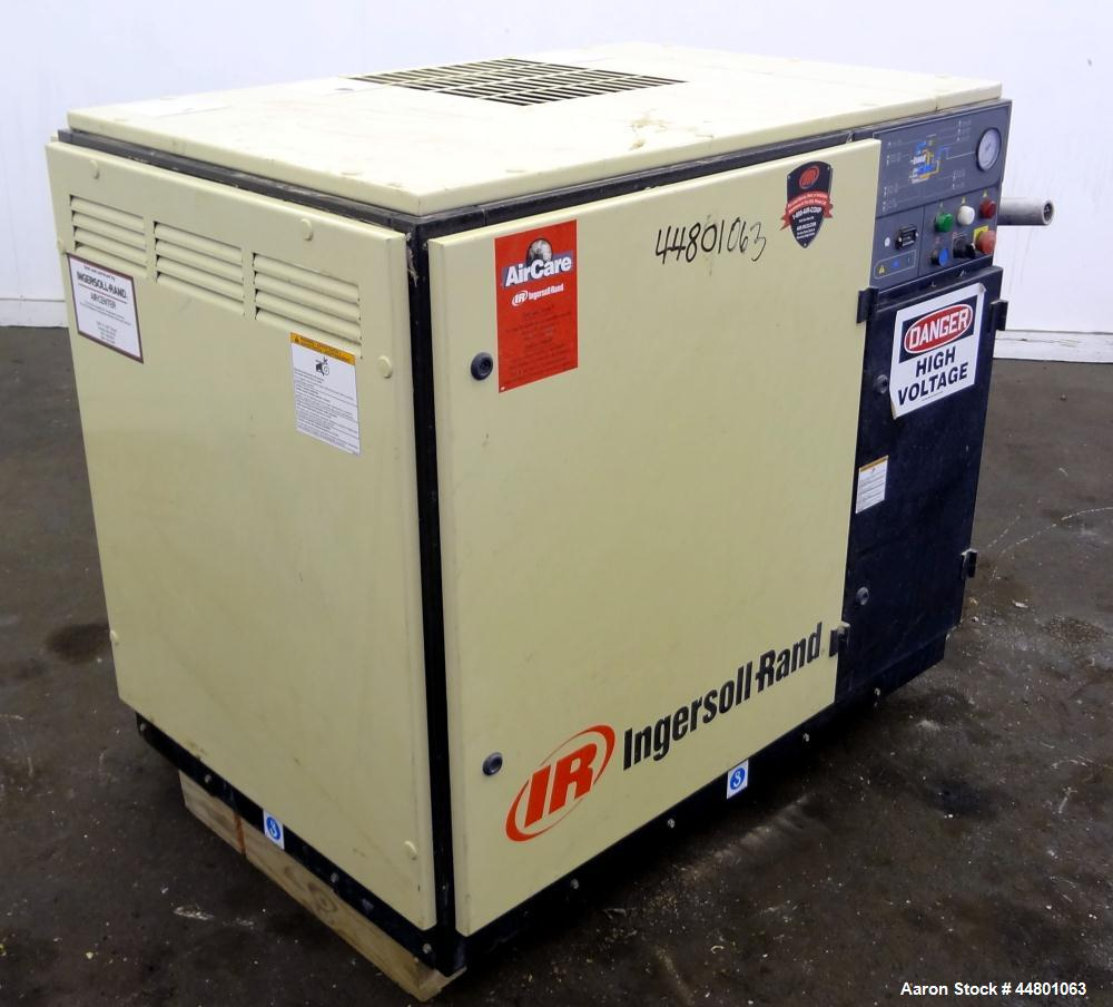 Used- Ingersoll-Rand Air Cooled Rotary Screw Air Compressor, Model SSR UP6-25-125