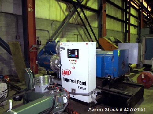 "Used- Ingersoll-Rand ""Centac"" Air Compressor, Model C95055M3"
