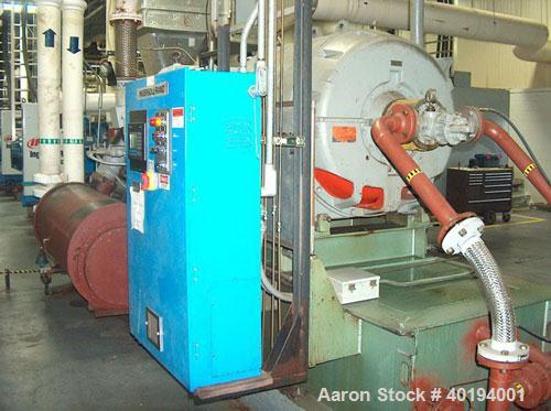 Used-Used: Joy Model TA60RZ Air Compressor. 6000 cfm, 3/60/4160V. Mechanical rebuild and controller upgrade in 2002. SN-BF67...