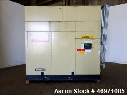 46971085- Used- Ingersoll-Rand Sierra Air Cooled Rotary Screw Air Compressor, Model H350A. Capacity 1501 CFM, rated operatin...