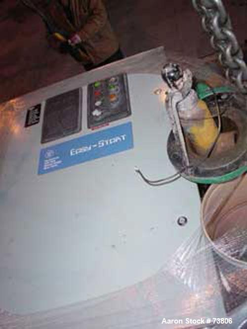 Used- Quincy Helical Screw Compressor, Model QSI1500