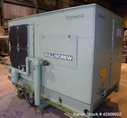 Used- Sullair Rotary Screw Air Compressor, model 20-100L. Single stage, air cooled. Approximately 575 cfm at 100/110 psig. D...