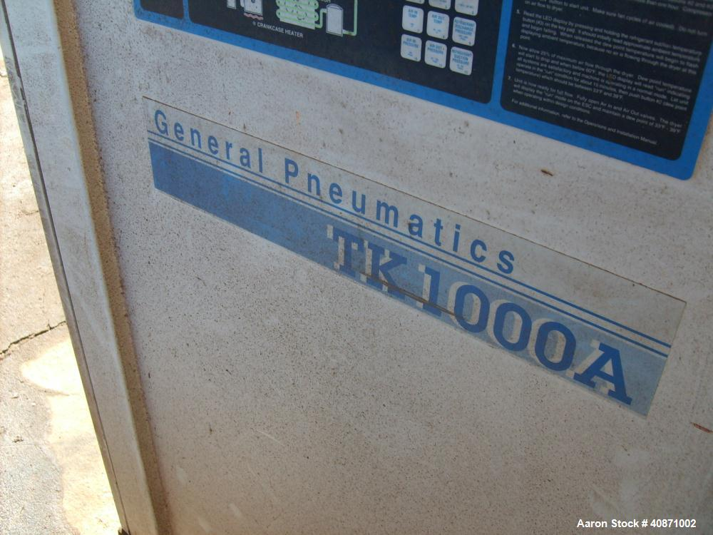 Used-General Pneumatic Compressed Air Dryer, Model TK1000A