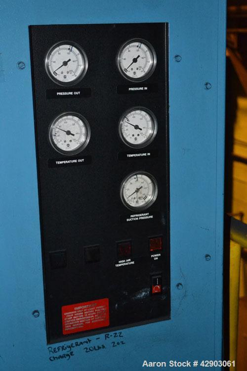 Used-Hankison Compressed Air Dryer, Model 80700 CU. Rated capacity 30875 BTU/HR at 35 degrees F. evap., & 100 degrees F. amb...