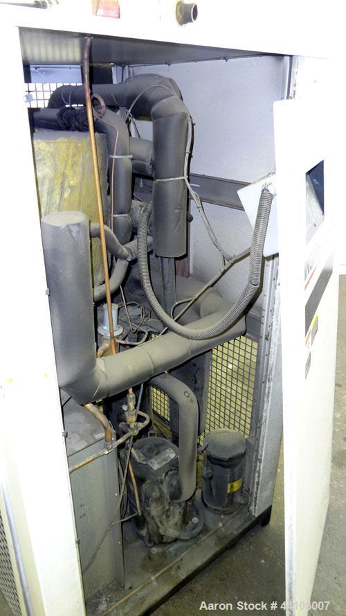 Used- Ingersoll-Rand Refrigeration Air Dryer, model DXR425. Nominal air-flow 425 cfm, maximum pressure 250 psi. Type R22 ref...