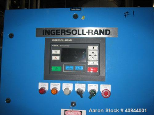 Used-Ingersoll-Rand Compressed Air Dryer, Model F501W-E6SP. Manufactured 1994. Max pressure 150 psig. Refrigerant charge 45 ...