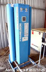 Used- Hankison Air Dryer, Model HHE-90. Rated 90 SCFM at 100 PSIG. Minimum 60 psi, maximum 150 psi, maximum operating temper...