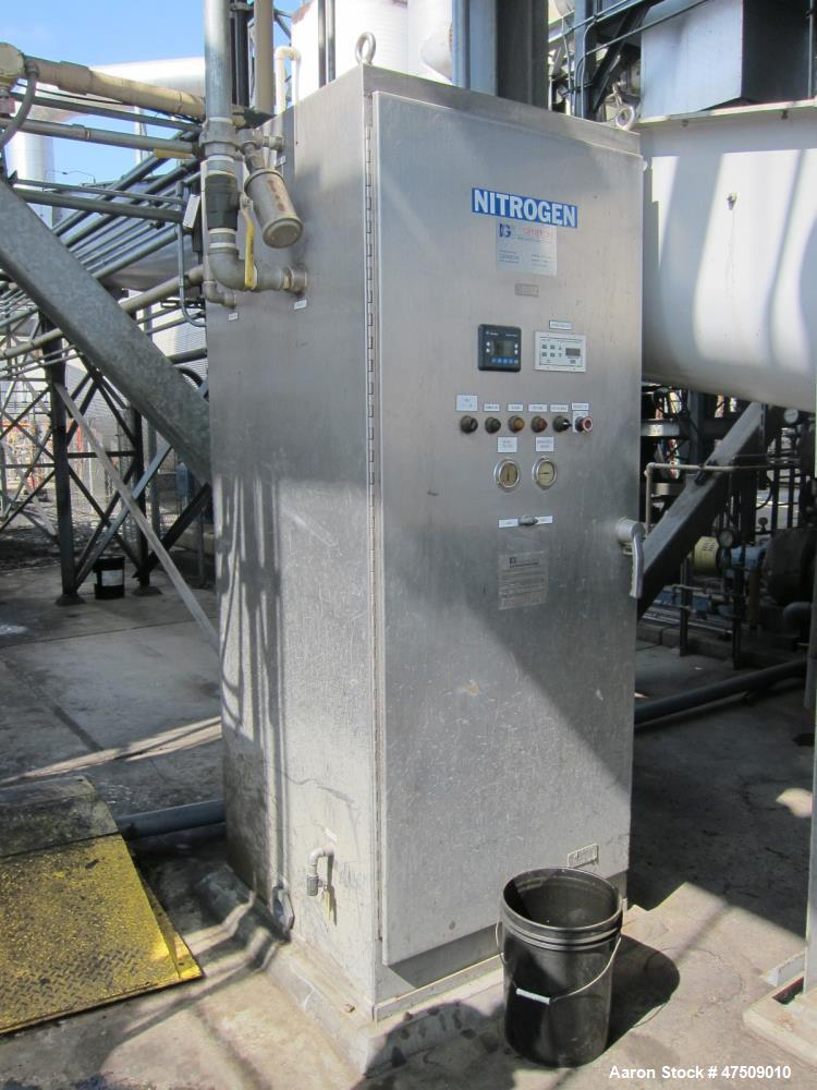 Used- Genron Nitrogen Generator.  Innovative Gas Systems. Air compressor needed to be run. Max 150psi in with 200psi out.  L...