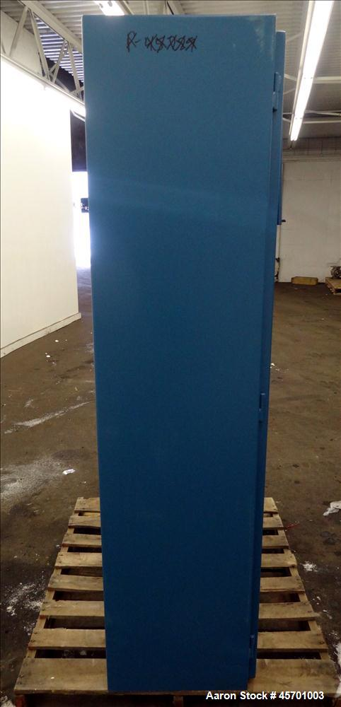 """Used- Advanced Specialty Gas Equipment Gas Cylinder Storage Cabinet, Model GC-2, Carbon Steel. Cabinet type 2-cylinder, 72"""" ..."""