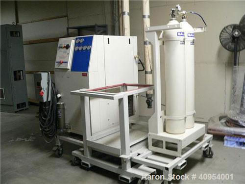 Used-Bauer Nitrogen Compressor, Model G120V. Manufactured 12/03 but was run only 5 hours.
