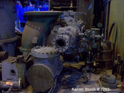 USED: Elliott turbine. For clark size 3mxs-4 cent comp.